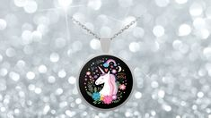 Magical Unicorn Pendant Necklace For Unicorn Lovers