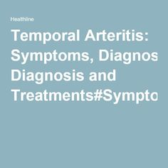 Natural Treatments For Temporal Arteritis