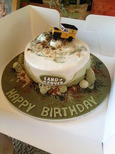 Landrover Birthday Cake