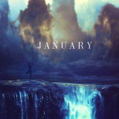 A Time Fluid Calendar - #January