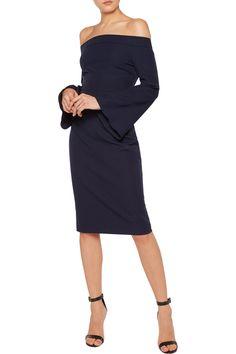 d2d31c989c87 Shop on-sale Iris and Ink Off-the-shoulder crepe dress. Browse