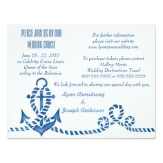 1000 images about nautical wedding invitations on for Electronic destination wedding invitations