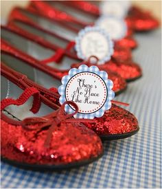dorothy party shoes- I need these and the movie for a certain lil girl
