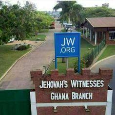 JW Kingdom Hall in Ghana