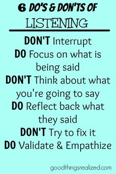 The best ways to listen and how not to listen. Mom Quotes, Quotes To Live By, Leadership Workshop, Wellness Institute, Working On Me, Active Listening, Good Listener, Summer Quotes, Say That Again