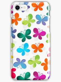 Romantic Butterflies and Flowers 11 • Also buy this artwork on phone cases, apparel, home decor und more.