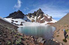 Broken Top Lake, Three Sisters Wilderness