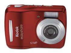 Kodak Easyshare C1505 12 MP Digital Camera with 5x Digital Zoom - Red from Kodak $54.51