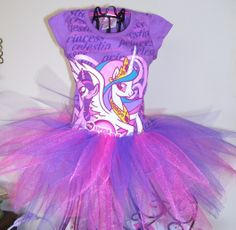 Princess Celestia..My Little Pony...Tutu Dress.