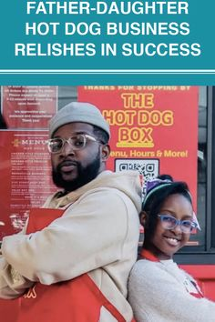 The two opened The Hot Dog Box inside Boxville Chicago(330 E. 51st St., Chicago) a container marketplace in Bronzeville that uses modified shipping containers for commerce in place of traditional brick and mortar spaces. Shipping Containers, 9 Year Olds, Father Daughter, Fun Activities, Hot Dogs, Brick, Two By Two, Chicago, Parenting