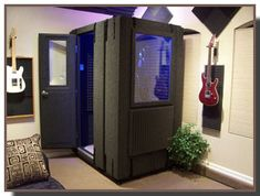 Portable Studio Booth | Recording Booths - Portable Recording Booths - Audio Booths ... I would paint it like a T.A.R.D.I.S.