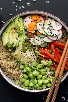 Vegetarian Sushi Bow