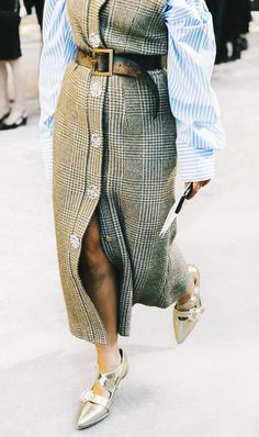 How to Style the Season's Most Interesting Belt via @WhoWhatWearUK