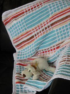 Ravelry: foist's Striped baby blanket