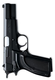 Browning Hi-Power Mark III - Fixed Sights MSRP $1110 The classic John Browning design in an all-business matte black, steel slide with epoxy finish, composite grip panels.