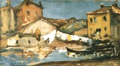 Rufe la uscat (Chioggia) Painting, Painting Art, Paintings, Painted Canvas, Drawings