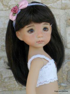 "Dianna Effner Little Darling Doll 13"" Cora"