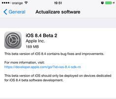 Download si instalare iOS 8.4 beta 2 fara UDID | iDevice.ro