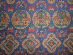 "Vintage Liberty Cotton Interiors Fabric Piece 'Asteria' Zebras 24""x 26"" #Liberty"