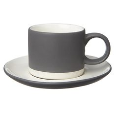John Lewis Croft Collection Espresso Cup and Saucer