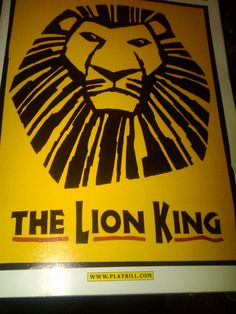"""How old is too old to finally see the """"The Lion King"""" on Broadway?  Trust me -- if you haven't seen this play, you should."""