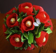 Chocolate Bouquets Brisbane, Edible bouquets Brisbane - Blooming Sweets