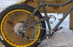Murphy Carbon Frame Fat Bike #fatbike #bicycle