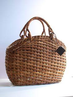 Japanese basket -kago bag. ~lisa