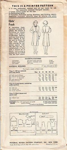 1920's Vintage Downton Abbey Era Pattern by shellmakeyouflip