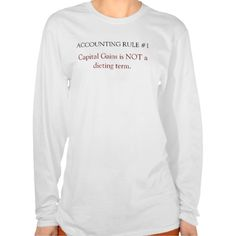Rules of Accounting - Number 1 Tee T Shirt, Hoodie Sweatshirt