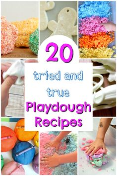 Easy playdough recipes that work EVERY TIME! These are tried and true, awesome and easy playdough recipes for kids. - Education and lifestyle Activities For 2 Year Olds, Creative Activities For Kids, Kids Learning Activities, Preschool Activities, Motor Activities, Kindergarten Activities, Preschool Arts And Crafts, Easy Arts And Crafts, Crafts For Kids To Make