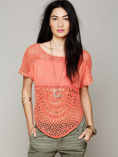 Free People Bubble Tee  http://www.freepeople.com/whats-new/bubble-tee/