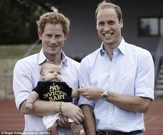 Prince Harry with his brother, the Duke of Cambridge. He has appealed to the public to show their support for the determined athletes competing in next months event & asked them to give them a warm reception