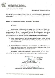 ALEXANDRE GUERREIRO: MEMORANDO CIRCULAR - CURSO DE FORMAÇÃO DE ASP/SUAP...