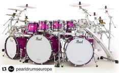 😍 So, this kit will be available in limited colours and quantity! Pearl Drum Kit, Pearl Drums, Drum Cage, Namm Show, Drumline, Dope Music, Drummer Boy, Snare Drum, Drummers