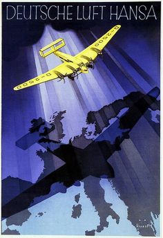 Jupp Wiertz. Deutsche Lufthansa. 1932 http://www.flickr.com/photos/27862259@N02/6966238931/