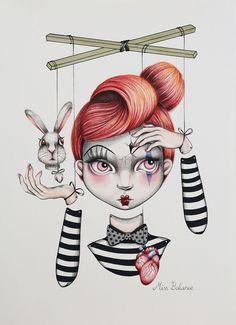 Miss Balance illustration by Sara Sanz
