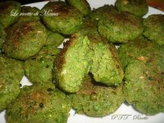 Polpette di piselli | Ricetta University Food, Arancini, Specialty Foods, Healthy Weight Loss, Vegan Vegetarian, Buffet, Food And Drink, Healthy Recipes, Vegetables