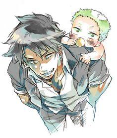 "Oga from ""Beelzebub"". Such a dim wit but you gotta love him. All Anime, Anime Manga, Anime Art, Anime Comics, Beelzebub Manga, Hawkeye Comic, Demon Baby, Barakamon, Manga Boy"