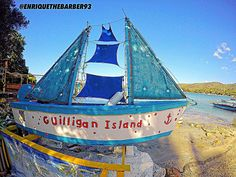 Guilligan island!  #guilliganisland #gilligansisland #seaboat #sailboat #ocean #oceanporn #oceanview #island #islandlife #islandhopping #mangrove #beautiful #barberlife #explore #finerthings #gopro #worldventures by enriquethebarber93