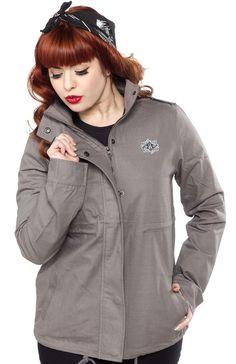 REBEL 8 GIRLS UTILITY JACKET $108.00 #rebel8 #jacket
