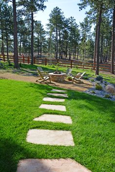 65 Beautiful Backyard Landscape Design Ideas For Inspiring Your Home's Backyard Decor 43 - topzdesign . Residential Landscaping, Landscaping Software, Backyard Landscaping, Landscaping Design, Garden Landscape Design, Landscape Designs, Construction Design, Fire Pit Backyard, Outdoor Decor