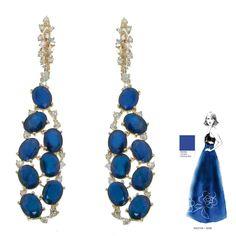 Earrings by Casato Roma