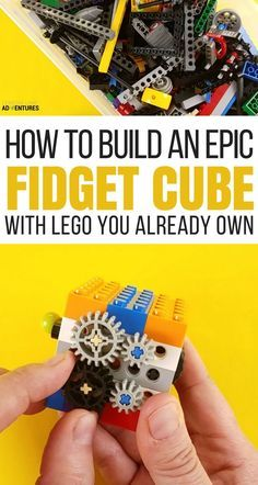 How to Make an Epic DIY Lego Fidget Cube via /lemonlimeadv/ Legos, Lego Lego, Lego Batman, Lego Craft, Minecraft Crafts, Lego Minecraft, Minecraft Skins, Minecraft Buildings, Projects For Kids