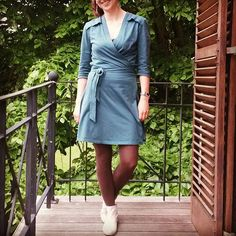 Robe portefeuille Elisa @la_maison_victor #mmmay16 #robeelisa #lamaisonvictor #jeportecequejecouds Wrap Dress, Shirt Dress, Couture, Instagram Posts, Shirts, Inspiration, Dresses, Fashion, Biblical Inspiration