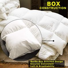 Hotel Collection Microfibre Wrapped Duvet Quilt 13.5 tog Single Double King SKng