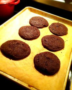 Chocolate cookies - perfection.  Momofuku Milk Bar recipe