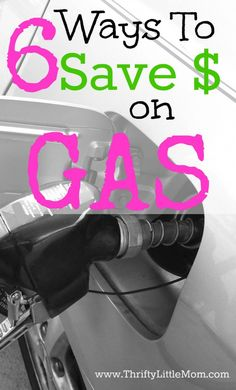 6 No Hassle Ways To Save Money on Gas. Simple ways that you can save a few bucks at the pump each time you fill up or carpool.
