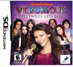 Nintendo DS Nickelodeon Victorious Hollywood Arts Debut