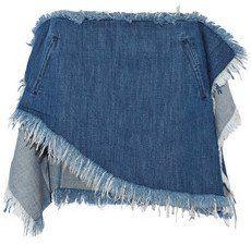 Pin for Later: So gut sahen abgeschnittene Jeans noch nie aus  Marques Almeida asymmetrischer, ausgefranster Minirock aus Denim (365 €)